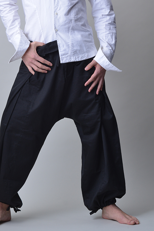 Jinbaori Shirt #12<br>Folding Hakama Pants