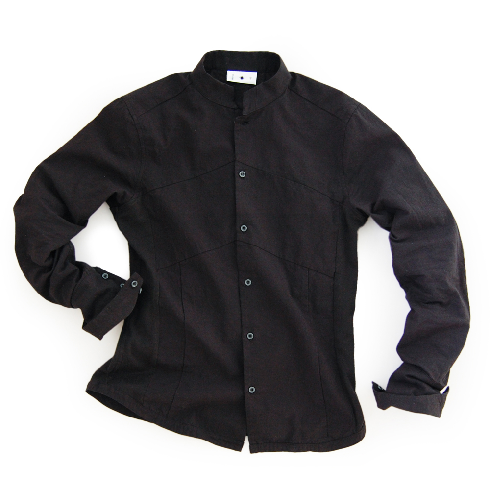 "<div style=""width:60px;display:inline-block;"">model</div> Jinbaori Shirt #7<br><div style=""width:60px;display:inline-block;"">color</div> black<br><div style=""width:60px;display:inline-block;"">material</div> cotton<br><div style=""width:60px;display:inline-block;"">price</div> 19,800JPY(+tax)"