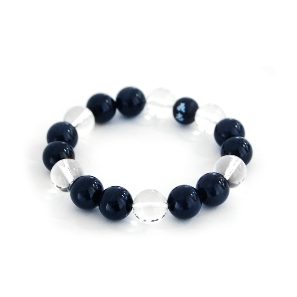 "<div style=""width:60px;display:inline-block;"">model</div> Juzu Bracelet<br><div style=""width:60px;display:inline-block;"">material</div> Crystal, Blue Tiger Eye<br><div style=""width:60px;display:inline-block;"">price</div> 8,600JPY(+tax)"
