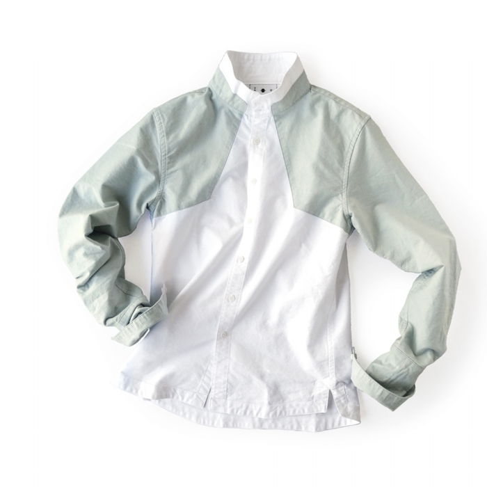 "<div style=""width:60px;display:inline-block;"">model</div> Jinbaori Shirt #16<br><div style=""width:60px;display:inline-block;"">color</div> light indigo on white<br><div style=""width:60px;display:inline-block;"">material</div> cotton<br><div style=""width:60px;display:inline-block;"">price</div> 21,000JPY(+tax)"