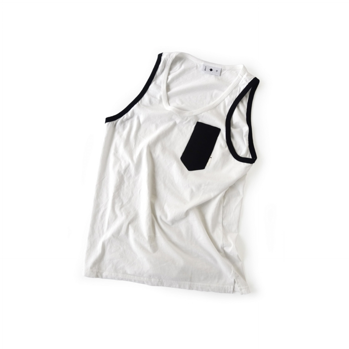 "<div style=""width:60px;display:inline-block;"">model</div> Tanktop #2<br><div style=""width:60px;display:inline-block;"">color</div> black on white<br><div style=""width:60px;display:inline-block;"">material</div> cotton<br><div style=""width:60px;display:inline-block;"">price</div> 8,000JPY(+tax)"