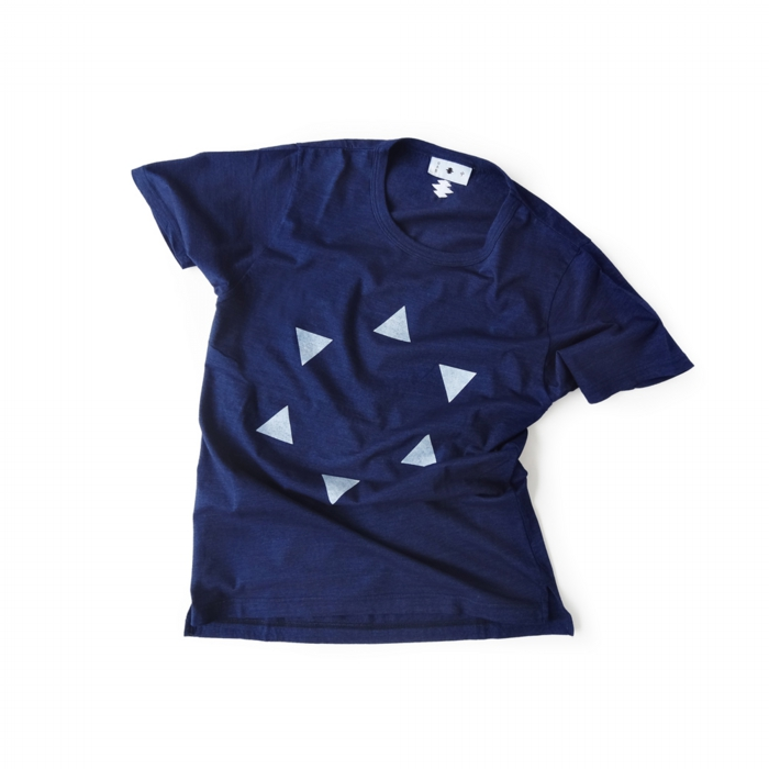 "<div style=""width:60px;display:inline-block;"">model</div> T-shirt #84 ""Hanare-kagome""<br><div style=""width:60px;display:inline-block;"">color</div> indigo<br><div style=""width:60px;display:inline-block;"">material</div> cotton<br><div style=""width:60px;display:inline-block;"">price</div> 9,800JPY(+tax)"
