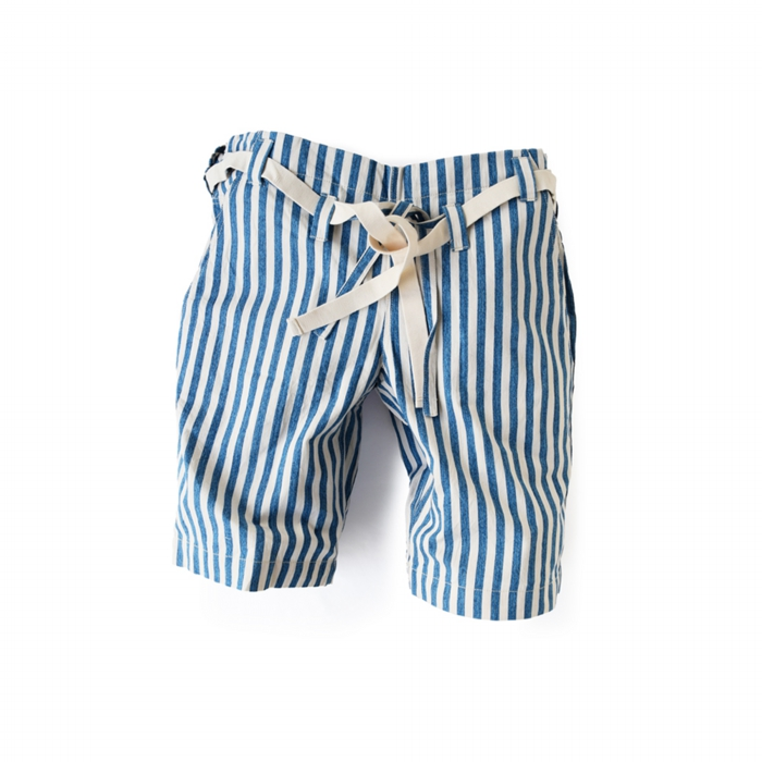 "<div style=""width:60px;display:inline-block;"">model</div> Karate Pants #8 ""Stripe""<br><div style=""width:60px;display:inline-block;"">color</div> blue on white<br><div style=""width:60px;display:inline-block;"">material</div> cotton<br><div style=""width:60px;display:inline-block;"">price</div> 18,000JPY(+tax)"