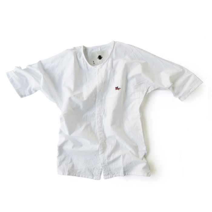 "<div style=""width:60px;display:inline-block;"">model</div> Dabo-shirt ""Samurai on the Horse""<br><div style=""width:60px;display:inline-block;"">color</div> white<br><div style=""width:60px;display:inline-block;"">material</div> cotton<br><div style=""width:60px;display:inline-block;"">price</div> 15,000JPY(+tax)"