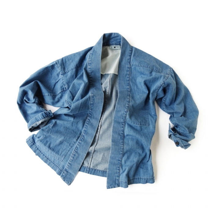 "<div style=""width:60px;display:inline-block;"">model</div> Yamato #4 ""Seven-year Wash""<br><div style=""width:60px;display:inline-block;"">color</div> indigo<br><div style=""width:60px;display:inline-block;"">material</div> cotton<br><div style=""width:60px;display:inline-block;"">price</div> 28,000JPY(+tax)"